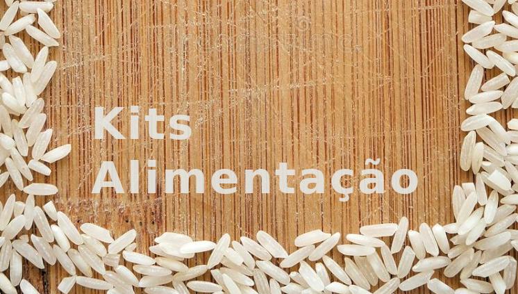 Kits Alimentação 2021: Informações sobre a entrega