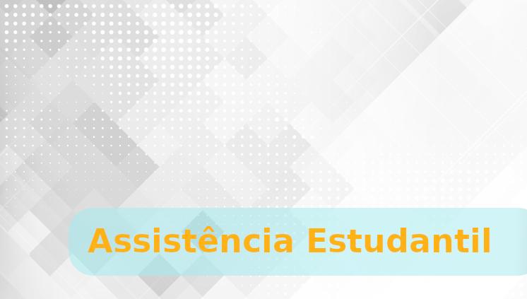Assistência Estudantil: Renovação 2019/2