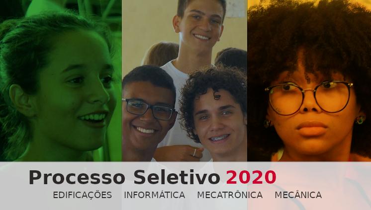 Processo Seletivo para Cursos Técnicos 2020: inscrições abertas!