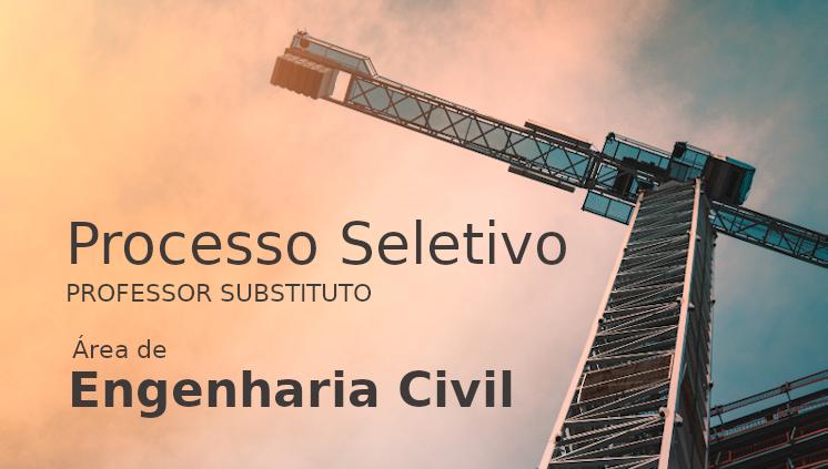Processo Seletivo: professor de Engenharia Civil