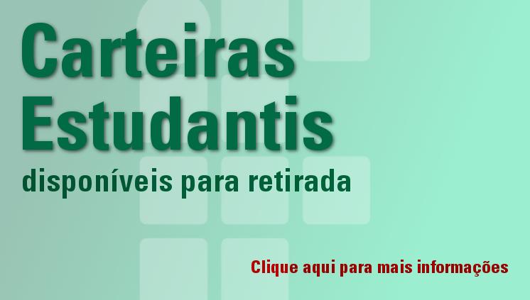 Carteira Estudantil: Procedimentos de solicitação e retirada